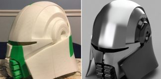 Star Wars The Force Unleashed Starkiller 3D Printed Helmet Header 1