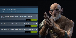 Middle-earth: Shadow of War South Africa Steam Header