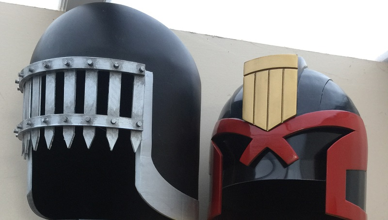 Judge Death's helmet is the latest 3D print you can wear ...