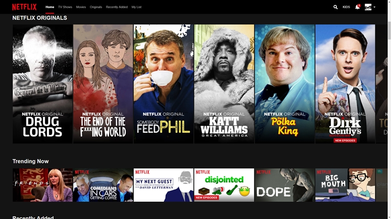Netflix makes browsing on a TV easier with latest update - htxt africa
