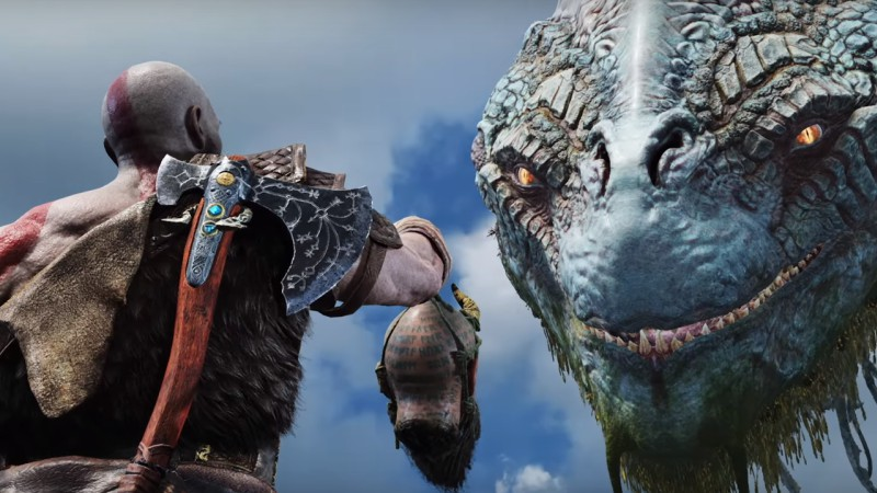 God Of War has a secret ending. No, it doesn't involve this giant serpent!