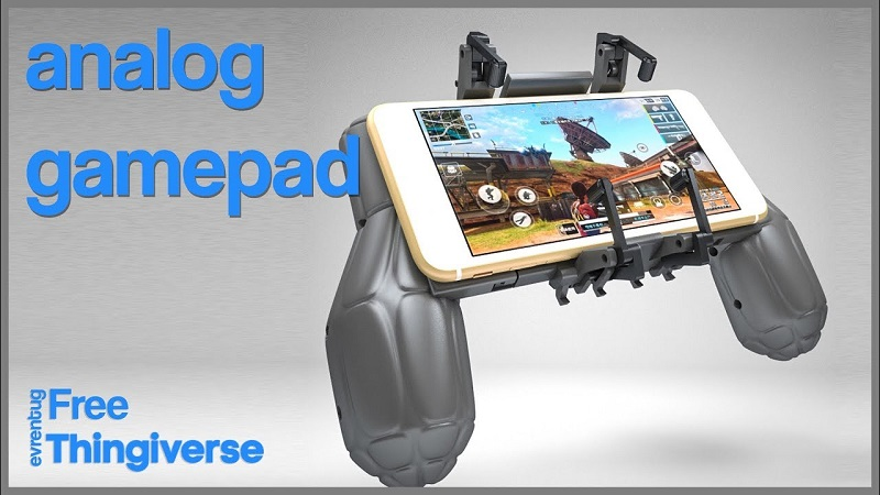Add Physical Controls To Pubg Mobile With A 3d Printed Analogue