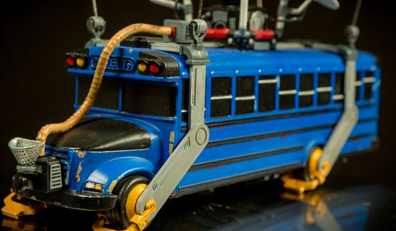 All Aboard This 3d Print Of Fortnite S Battle Bus Htxt Africa