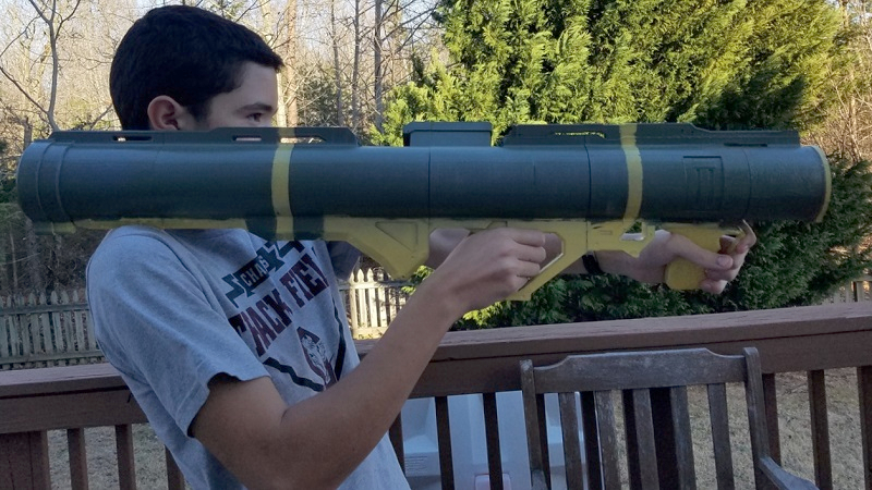 Another rocket launcher from Halo is turned into a sizeable