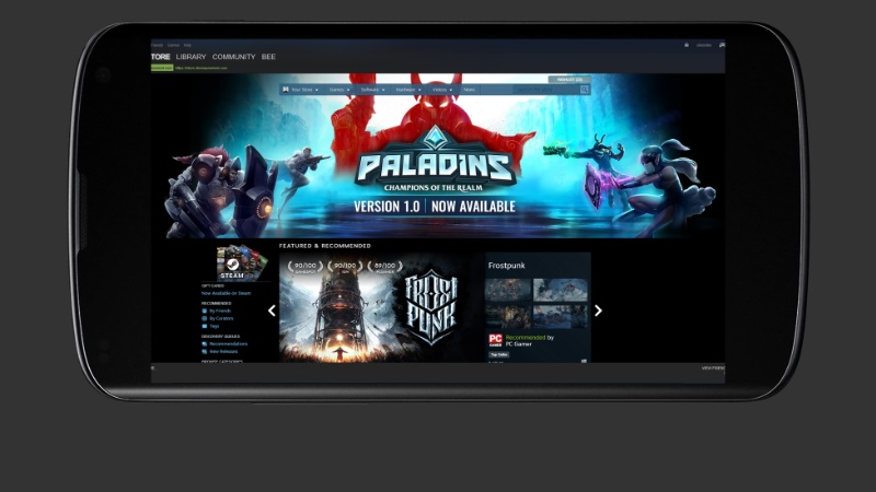 Valve confirms Steam Link app for Android and iOS coming in