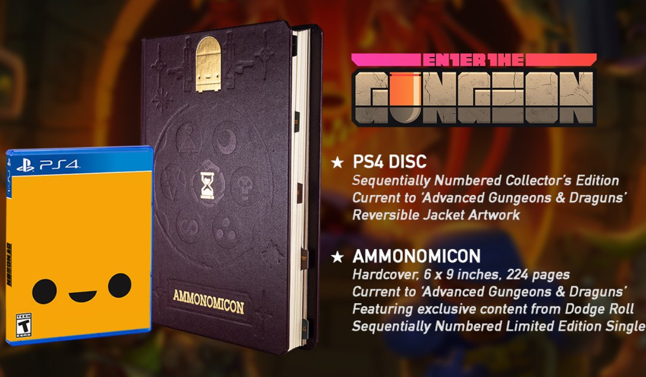 Enter the Gungeon physical edition & ammonomicon on its way - htxt