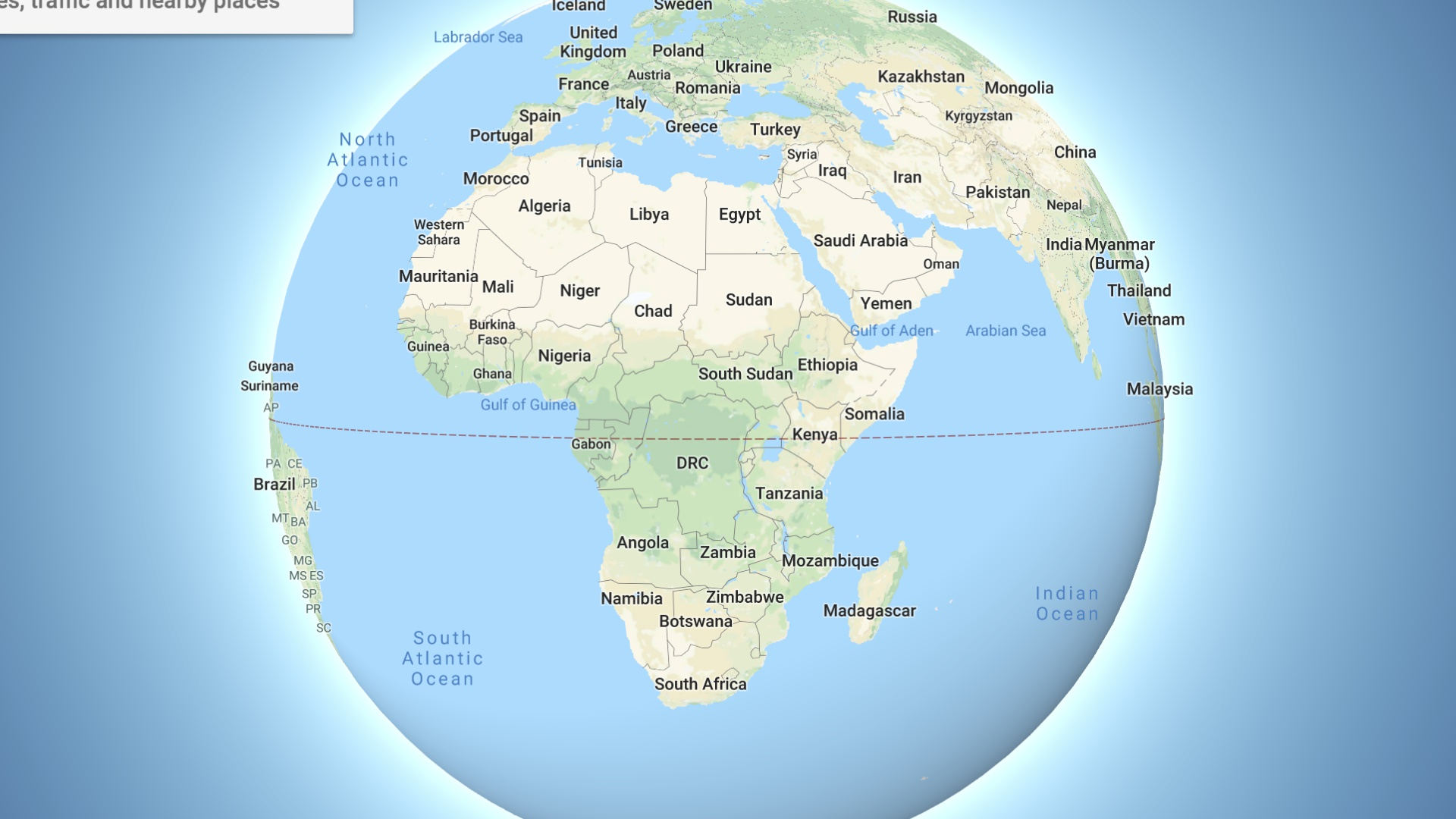 Latest Google Maps Update Will Upset Flat Earth Theorists Htxt Africa