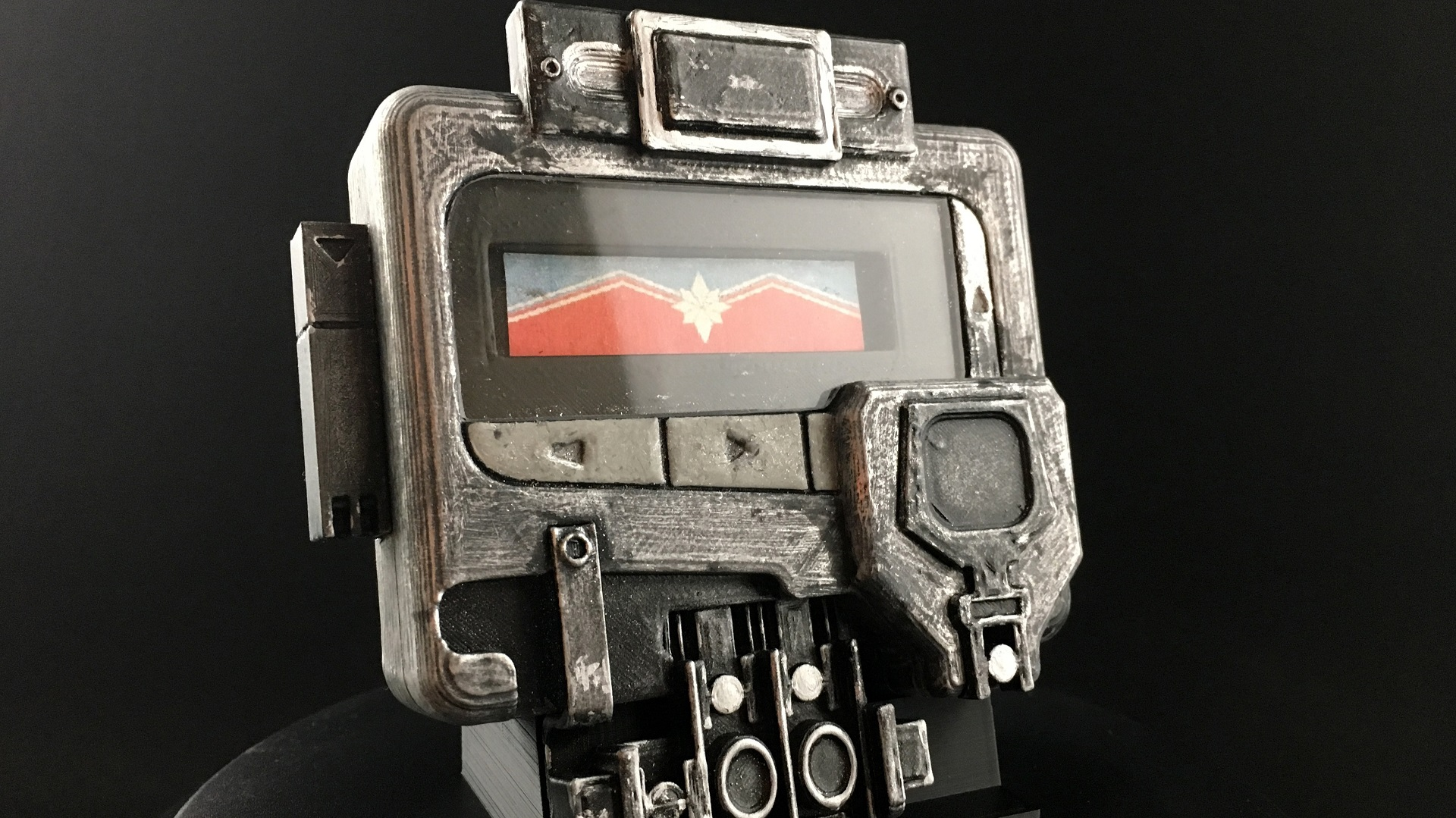 need captain marvel start by 3d printing nick furys pager