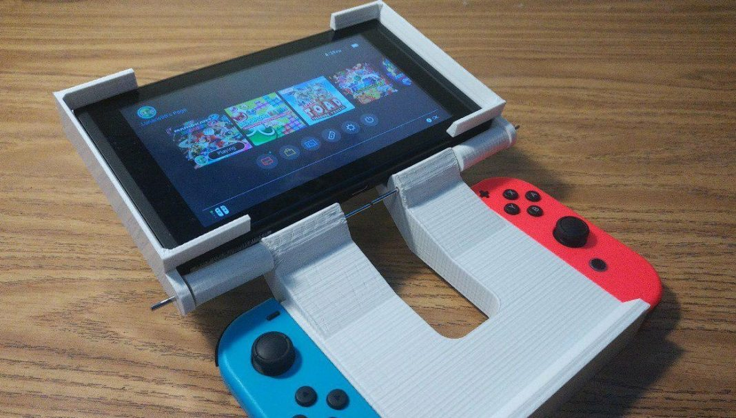 3d print turns the nintendo switch into a clamshell console htxt