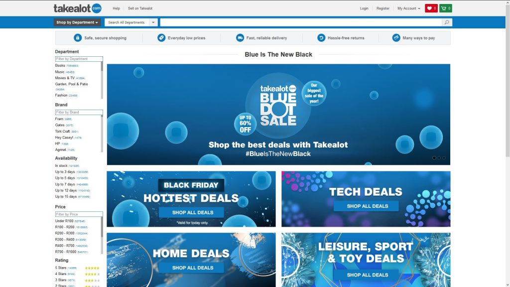 Takealot Disables Credit Card Payments On Black Friday 2018 Htxt Africa