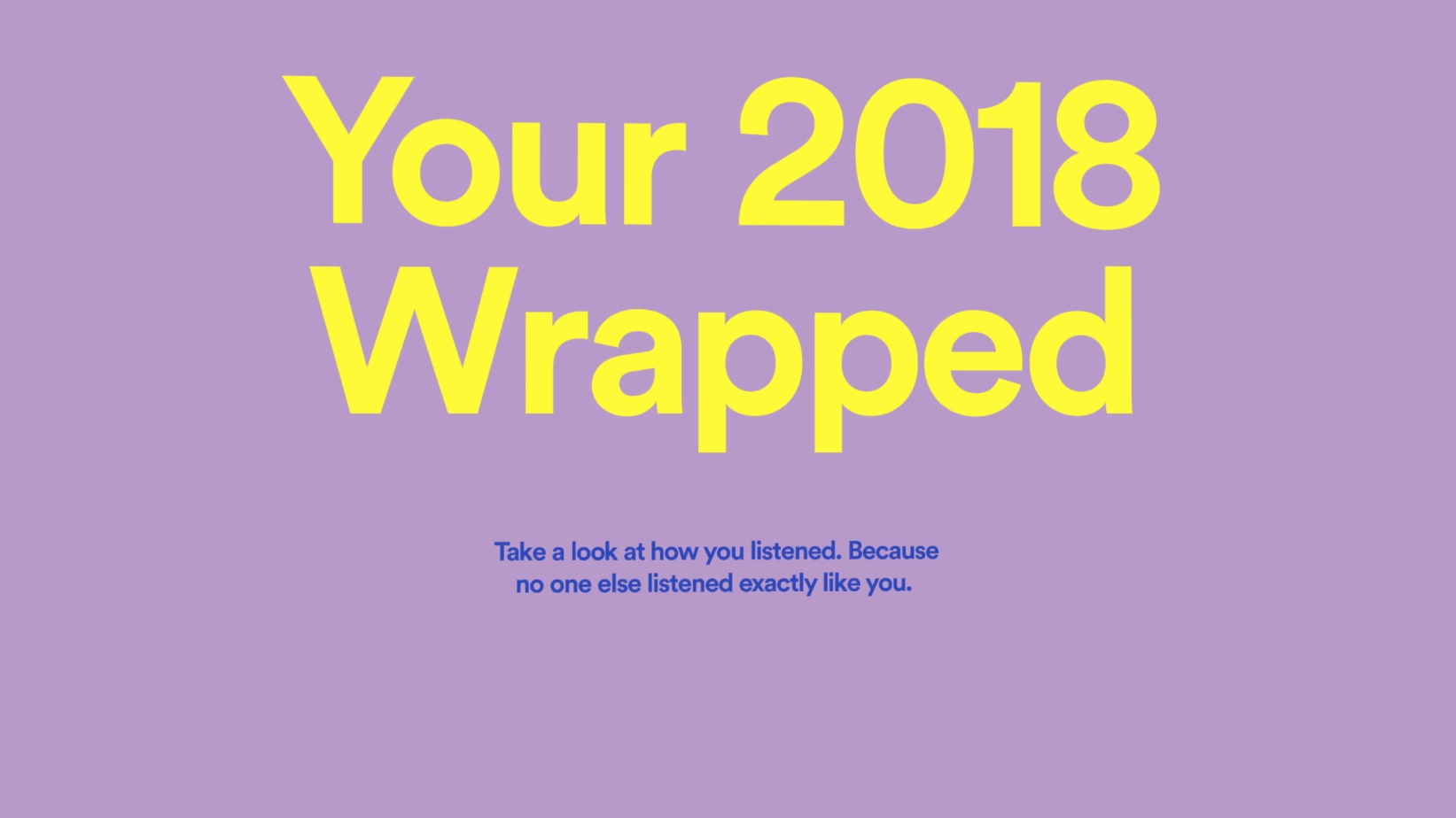 How did your music do in 2018? Spotify Wrapped has you covered