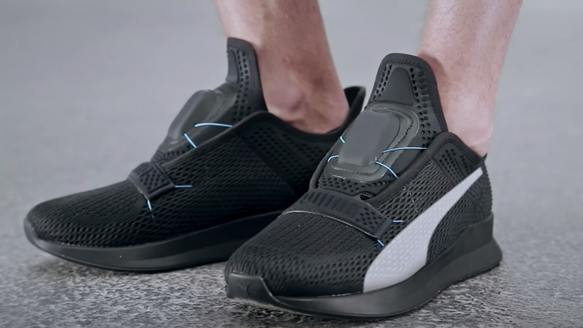Puma enters self-lacing shoe game with
