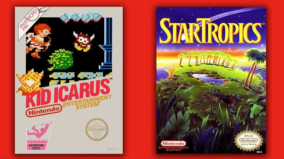 Kid Icarus and StarTropics Coming to Nintendo Switch Online