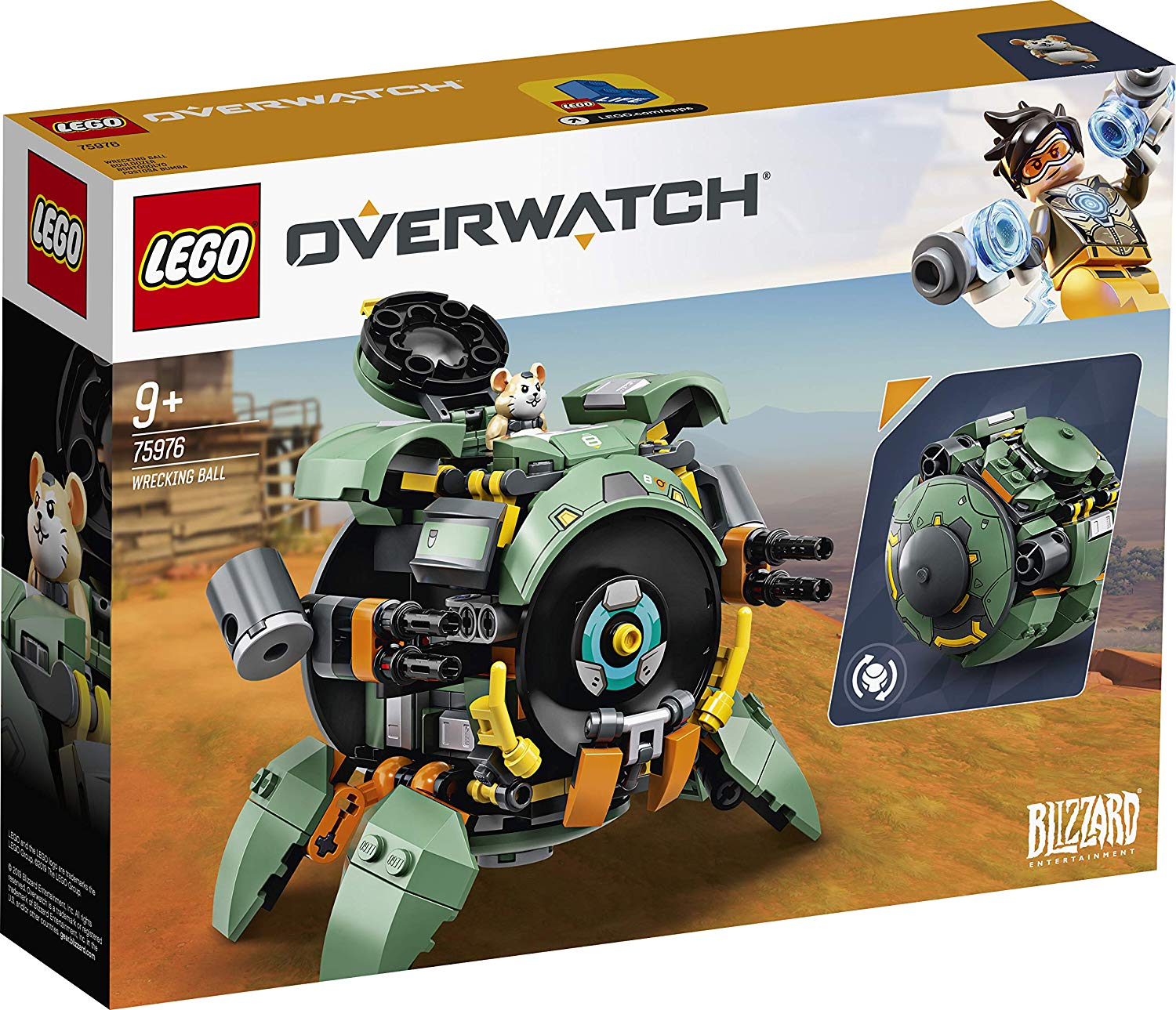 Junkrat, Roadhog and Wrecking Ball come to official Overwatch LEGO
