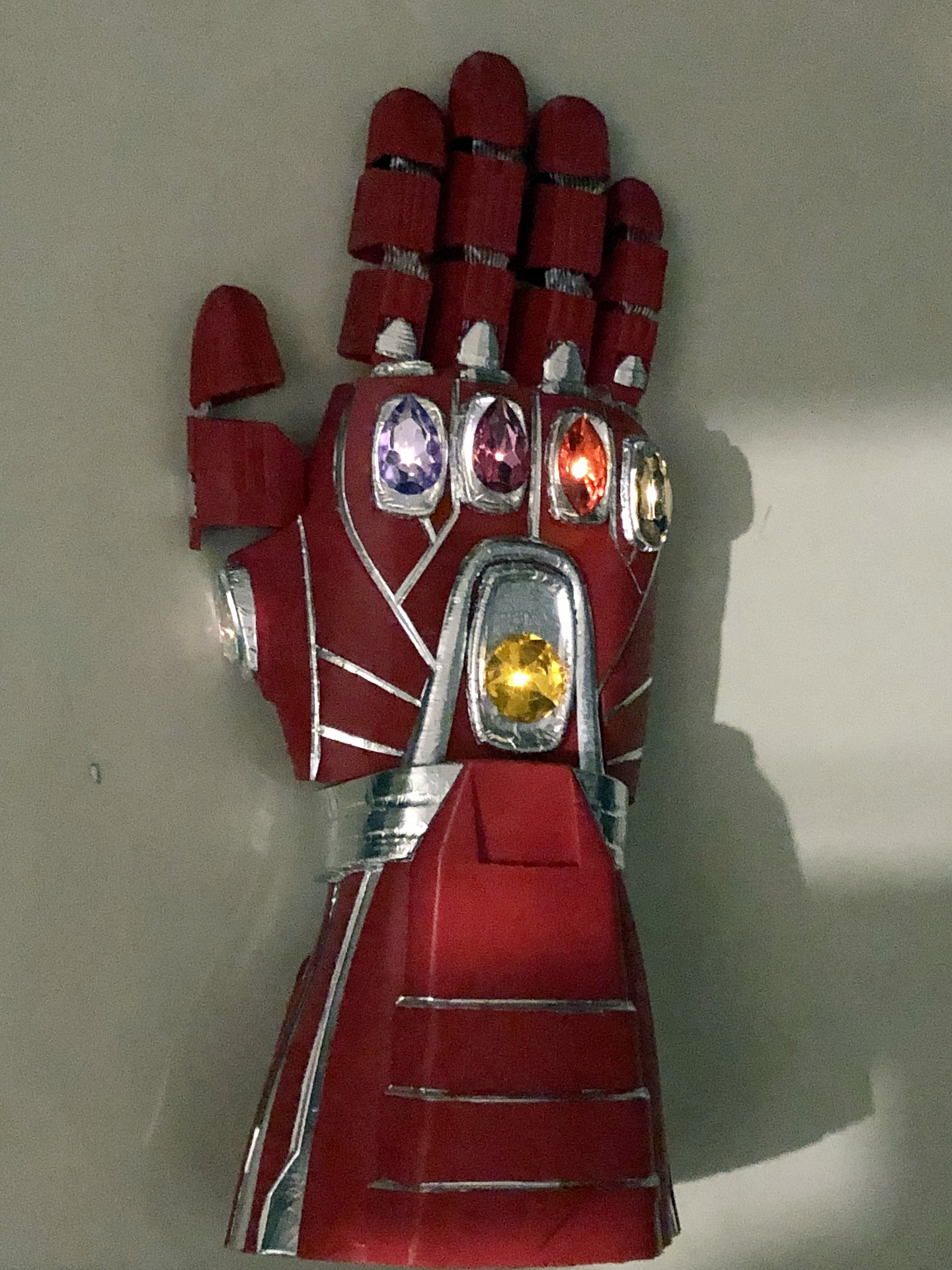 All you need to make an Endgame Nano Gauntlet is a 3D