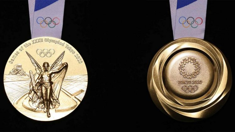 Check out the Tokyo 2020 Olympic medals made from recycled ...