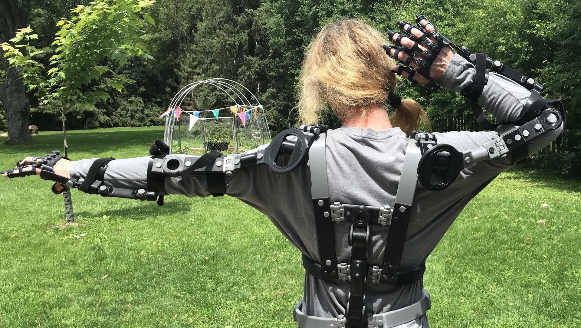 A 3D printed exosuit for all your sci-fi needs - htxt africa