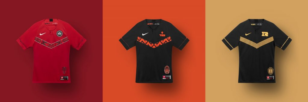 Nike made some jerseys for League of Legends Pro players in