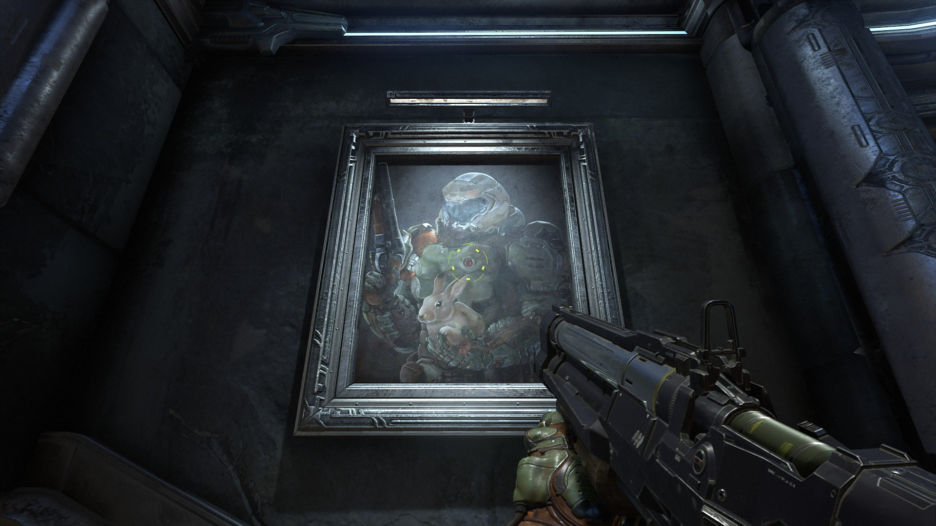 Here S The Story Behind That Daisy Painting In Doom Eternal Htxt