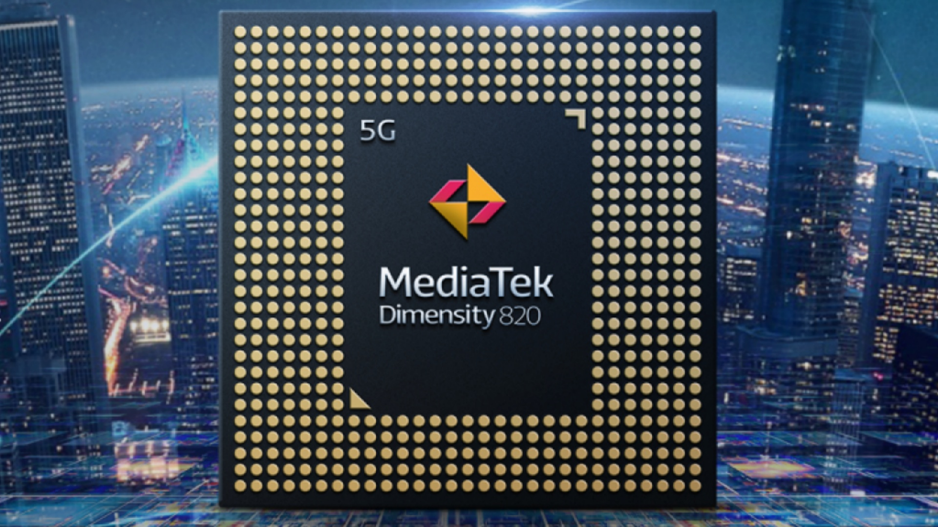 MediaTek Dimensity 820 5G SoC With Up To 80MP Camera Support Announced