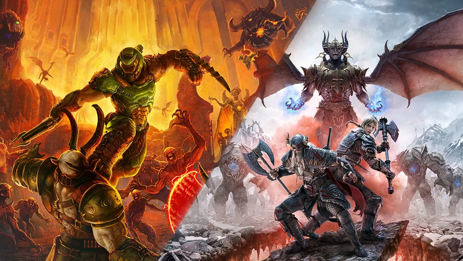 Doom Eternal's first DLC is called The Ancient Gods, Part One