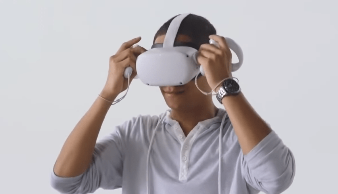 Oculus Quest 2 VR headset revealed
