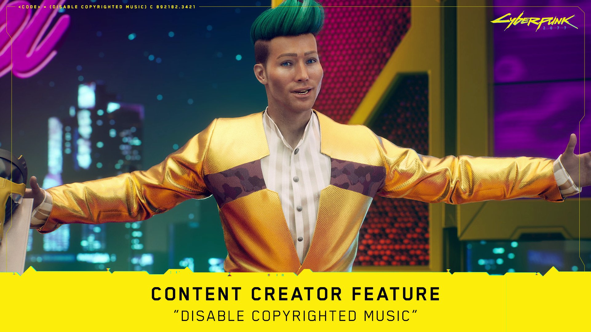 Cyberpunk 2077 stream DMCA'd for music? Email CD Projekt directly - htxt.africa