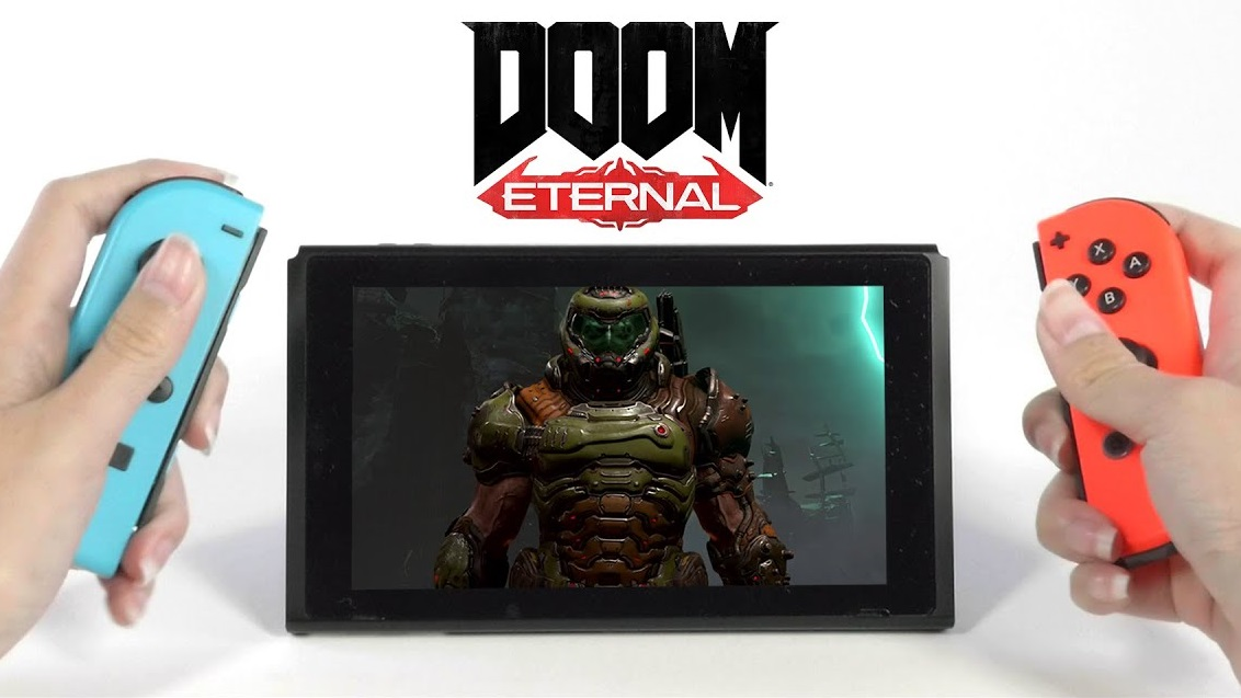 Remember the Doom Eternal Switch port? It's out next week - htxt.africa